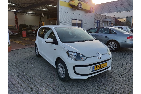 Auto Service Harlingen - Volkswagen up! 1.0 MOVE UP! BLUEMOTION verkocht!